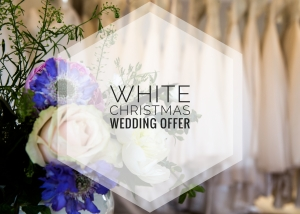 Luxury White Christmas Wedding Offer - Lyn Ashworth England