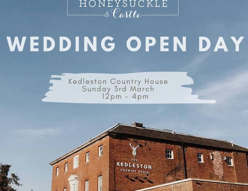 Kedleston Country House wedding open day